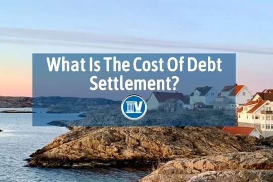 What is the cost of debt settlement