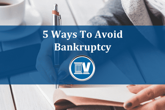 5 ways to avoid bankruptcy