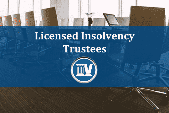 Licensed Insolvency Trustees